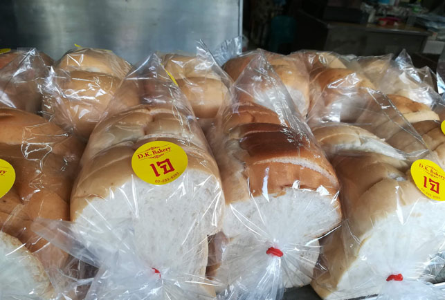 際のパン屋
