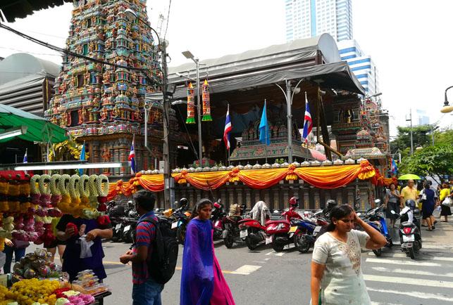 【齋】タイのベジタリアン・フェスティバル 〜 キンジェー 〜 2018 ヒンドゥー寺院【九皇勝會】