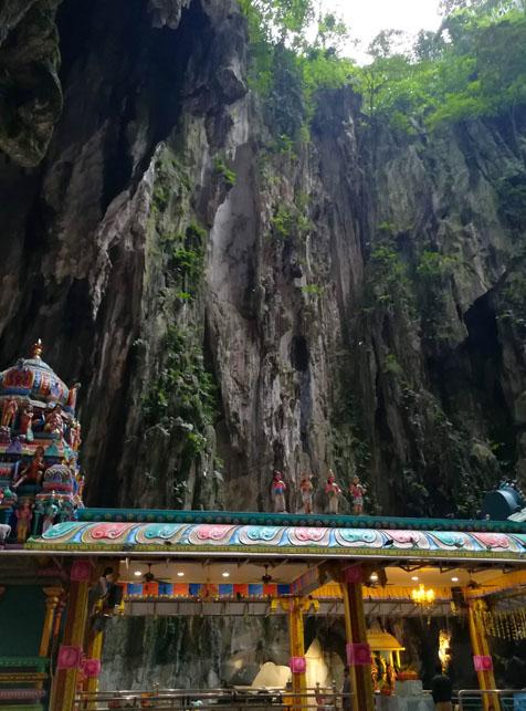 バトゥ洞窟の本堂