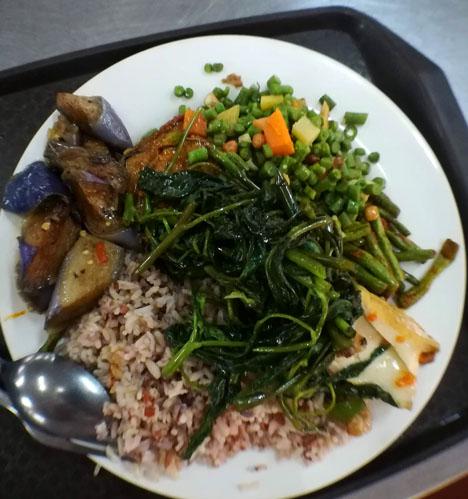 クアラルンプールの精進料理