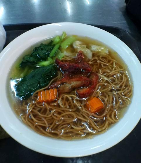 クアラルンプールの広東麺