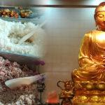 クアラルンプールのいかすベジタリアン食堂(お寺)