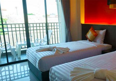 vasaホテルのベッド