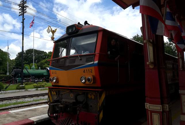 ホアヒンの列車