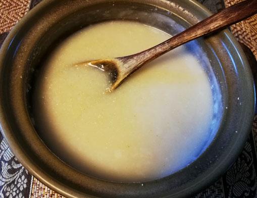 玄米クリーム