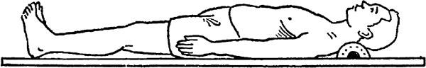 西式 平床 木枕